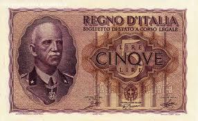 storia banconote antiche